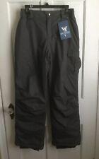 Youth Girls Snow Ski Pants Insulated SKI PANT Gray Medium White Sierra $50