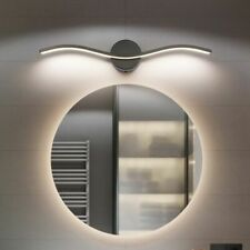 Modern Led Wall Lamp Mirror Front Light Indoor Aluminum Bathroom Waterproof Deco
