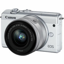 Canon EOS M200 Mirrorless Digital Camera with 15-45mm Lens (White) 3700C009