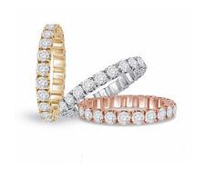 Damen Brillant Ring 2 Karat Diamanten 18 K Gelbgold Neu Verlobung Fabrik Outlet