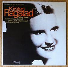 KIRSTEN FLAGSTAD Heil dir, Sonne & Starke Scheite... LP Richard Wagner