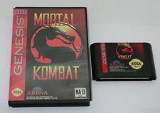 Mortal Kombat Complete Sega Genesis 1993