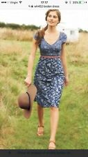 Boden Hotchpotch Summer Dress - Size 10 With Free Matching Cardigan