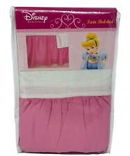 Disney Princess Pink Ruffled Twin Size Bedskirt 39in x 75in