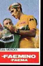 Eddy MERCKX Cyclisme Cycling FAEMA Chromo card ciclismo Cycliste MAILLOT JAUNE