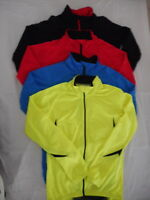 Jaggad Unisex Cycling Bike Long Sleeve Jersey RED BLUE BLACK LIME #250  S to 3XL