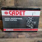 Cox/Sanwa CADET-C Digital Proportional Radio Control 2 Channel, 75.550, 68 *NIB*