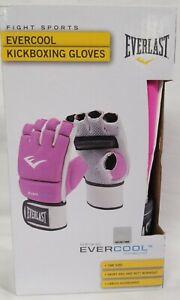 Everlast EverCool Women's Boxing Grappling Kickboxing Gloves Purple 4 Oz