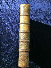 Livres Anciens reliures XVIIIème histoire des Auteurs sacrés tome 10 - 1742