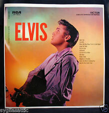 ELVIS PRESLEY-ELVIS-Mega Rare Unused Factory Album Slick-RCA VICTOR #LSP-1382e