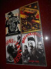 4 Seasons Of Sons of Anarchy - Seasons 1-4