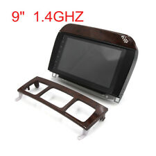 """9"""" LCD Capacitive Touch Screen Android 6.0.1 Car GPS Navigation for Benz S-W220"""