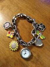 Anne Klein butterfly, dragonfly, ladybug  Ladies watch, running w/new battery M