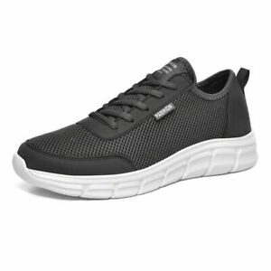 Men's Running Shoes Sneakers Casual Mesh Breathable Athletic Sports Lace Up Gym