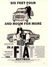 1959 FIAT 1100  ~  ORIGINAL HOFFMAN MOTOR CAR CO PRINT AD