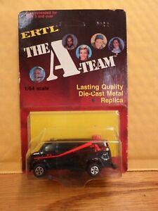 THE A-TEAM ERTL VAN DIE CAST METAL REPLICA CAR 1983 MOC (V)