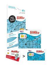 Simka / Mobilka Prepaid Sim Karte günstig ins Ausland telefonieren Mobilkarte