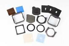 Cokin A Series Filter Kit.  2 x Holders, 2 x Hoods, 49mm + 52mm Rings, Filters