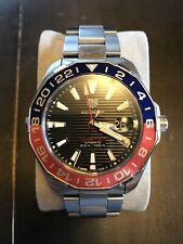 Tag Heuer Aquaracer Calibre 7 GMT Men's Diving Watch WAY201F.BA0927    Pepsi