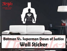 Batman Vs. Superman Dawm Of Justice League Custom Vinyl Wall Sticker