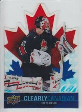 2009-10 UD SERIES STEVE MASON 006/100 CLEARLY CANADIAN ACETATE Upper Deck Canada