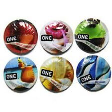 12 ONE Flavor Waves Assorted Condoms