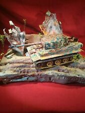 1/32 scale diorama Battlefield For Force's Of Valor Or Any Military Tanks.