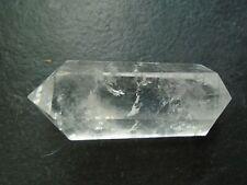 A grade Clear Quartz double point, Brazil,65 grms, 70 mm
