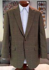 NEW Brooks Brothers Mens Plaid Multicolor Wool 2 Btn Blazer Sz 40 41 42 R MINT!