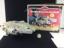 VINTAGE STAR WARS KENNER MILLENNIUM FALCON W/BOX EMPIRE STRIKES BACK 1977-80
