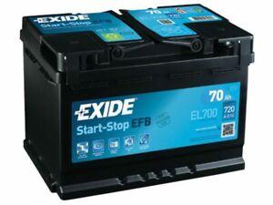 Batteria Exide 70Ah 720A 12V Start-Stop EFB