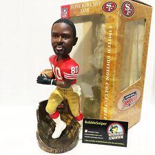 "JERRY RICE San Francisco 49ers Super Bowl XXIII ""MVP"" Limited Ed Bobble Head*"