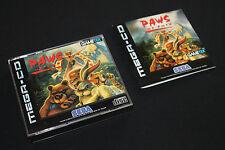 PAWS OF FURY SEGA Mega Drive CD in OVP + Anleitung DEUTSCH! Guter Zustand  RAR