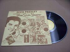 VINYL ALBUM RECORD,ELVIS PRESLEY INTERVIEWS AND MEMORIES OF THE SUN YEARS