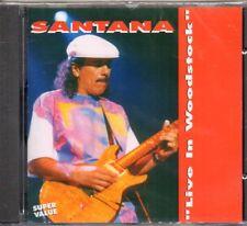 SANTANA - LIVE IN WOODSTOCK - CD (NUOVO SIGILLATO)