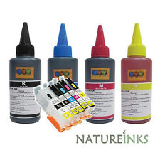 Complete refill refillable ink cartridges kit to replace canon PG550 CLI551