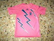 maillot shirt jersey trikot ancien STADE FRANCAIS RUGBY 2005-2006 ADIDAS ROSE