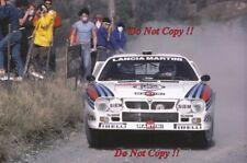 Attilio Bettega MARTINI LANCIA 037 RALLY SANREMO RALLY 1983 fotografia 2