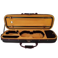 4/4 Violin Case Nylon Oxford Fabric Waterproof Violin Box Light Weight Black
