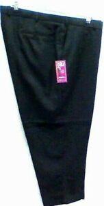 Larger mens  trousers 42 44 46 48 50 52 54 56 58 60 62 64 Leg 29/31 Black