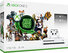 Microsoft Xbox One S 1 TB White Console System model 1681