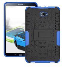 HIBRIDO exteriores Funda Protectora Azul para Samsung Galaxy Tab A 10.1 T580