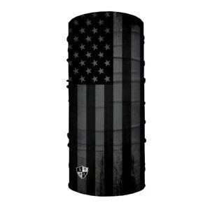 Lot of 4 SA CO Company Salt Armour SA Blackout American Flag Shield Mask Gaiter