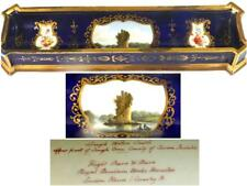 Antique vol Barr & Barr Worcester Pen Stand Lough eau Castle Irlande
