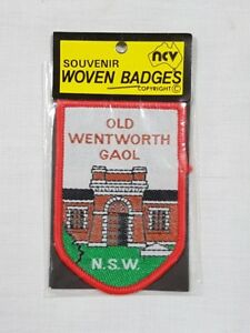 Old Wentworth Gaol, NSW, Collectable Souvenir Sew on Patch / Badge (NOS)
