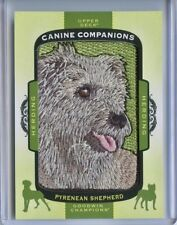 2017 Ud Goodwin Champions Canine Companions Patch Cc74 Pyrenean Shepherd