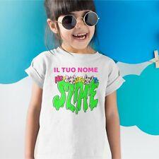 Tshirt T-shirt Maglia Me Bambina Contro Bambino Te Slime Maglietta Lui e Sofi