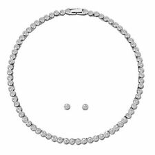 Swarovski Tennis Set - White - Rhodium Plated - 5007747
