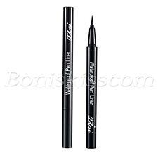 Black Waterproof Long Lasting Liquid Eyeliner Super Slim Makeup Eye Liner  Pen