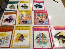 Alfred Piano Method Books Levels 2,3,4,5 and 6 plus assorted Jazz Lot of 15